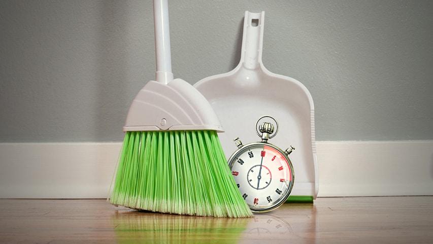 Clean fast